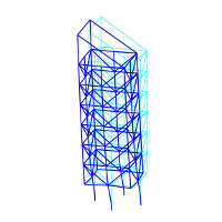Frame3DD - Static and Dynamic Structural Analysis of 2D and 3D Frames